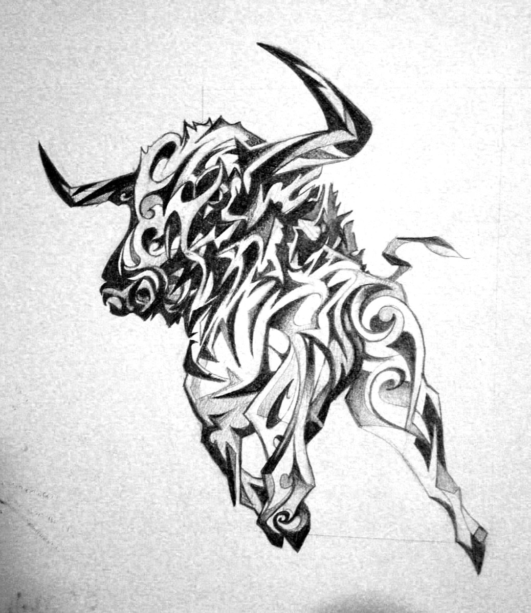 Taurus Tattoo Design — Art Of OK